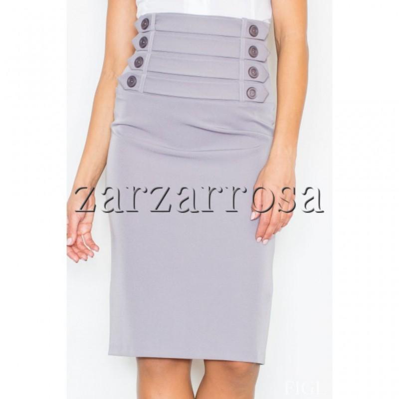 Dámska sukňa s vysokým pásom - zarzarrosa 38e3226296e