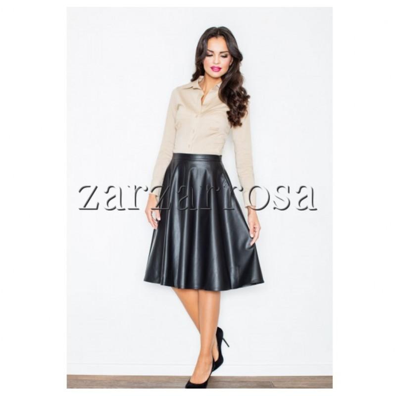 Koženková sukňa - zarzarrosa 24d30dae948