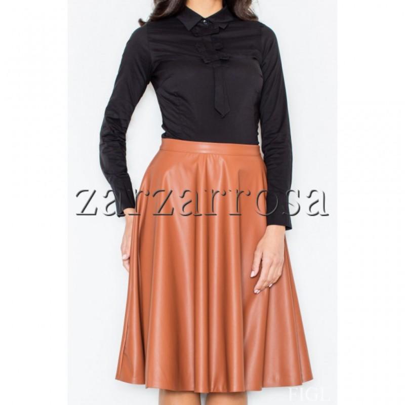 ... Dámska kožená mini sukňa ... 91a35f9ad5c