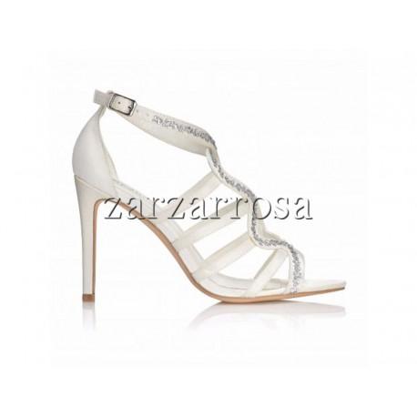 Svadobné sandaliky Josefina